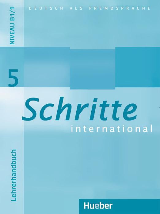 Schritte International: Level 5: Lehrerhandbuch schritte international 4 cd