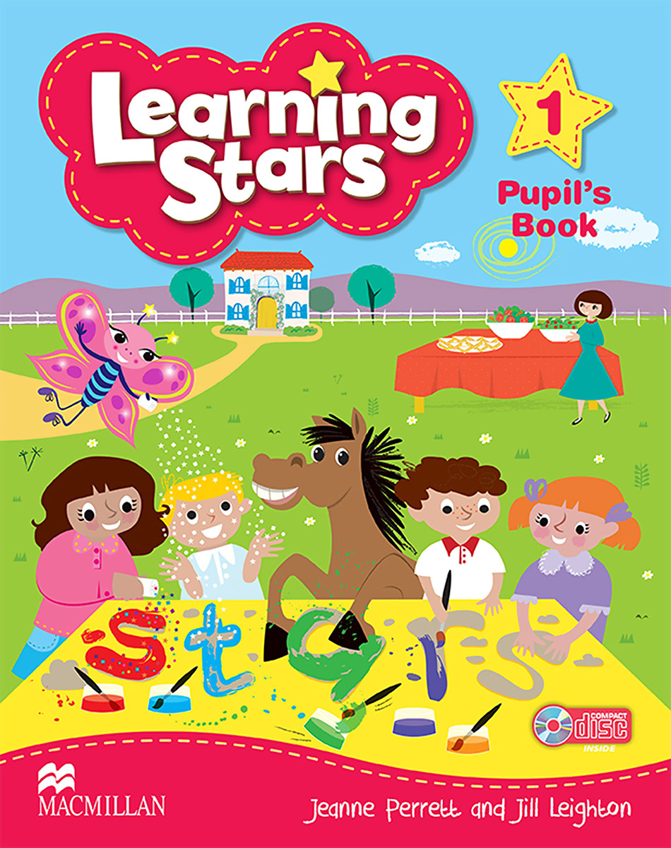 Learning Stars: Pupil's Book: Level 1 (+ CD-ROM)