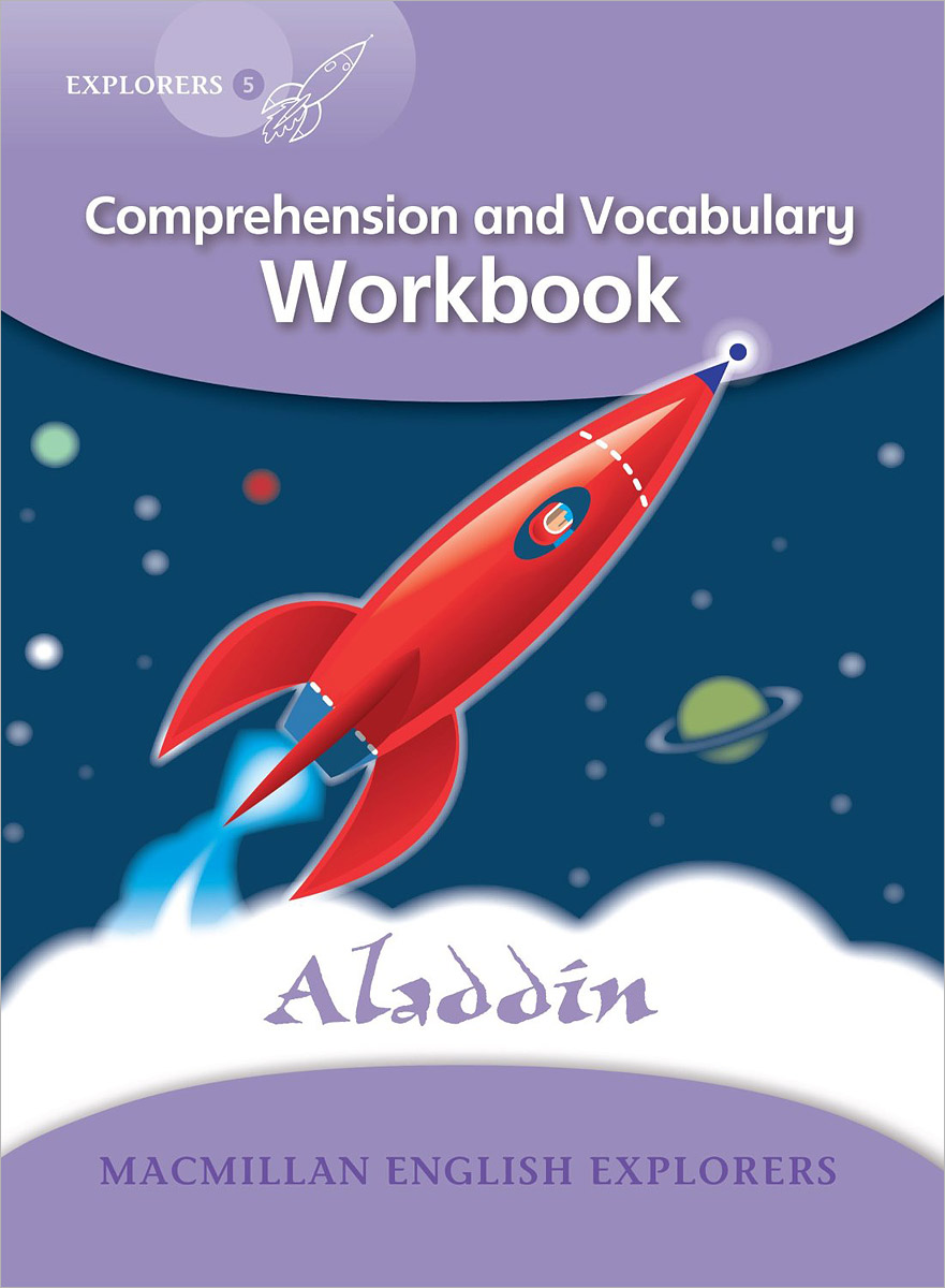Aladdin: Comprehension and Vocabulary Workbook: Level 5 counting workbook
