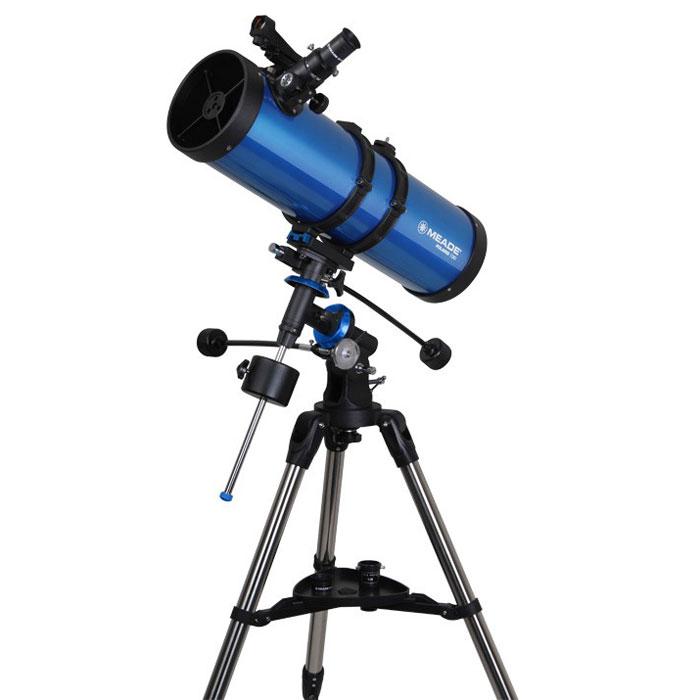 Meade Polaris 130 мм экваториальный телескоп-рефлектор телескоп meade ds 2130ats lnt серии ii