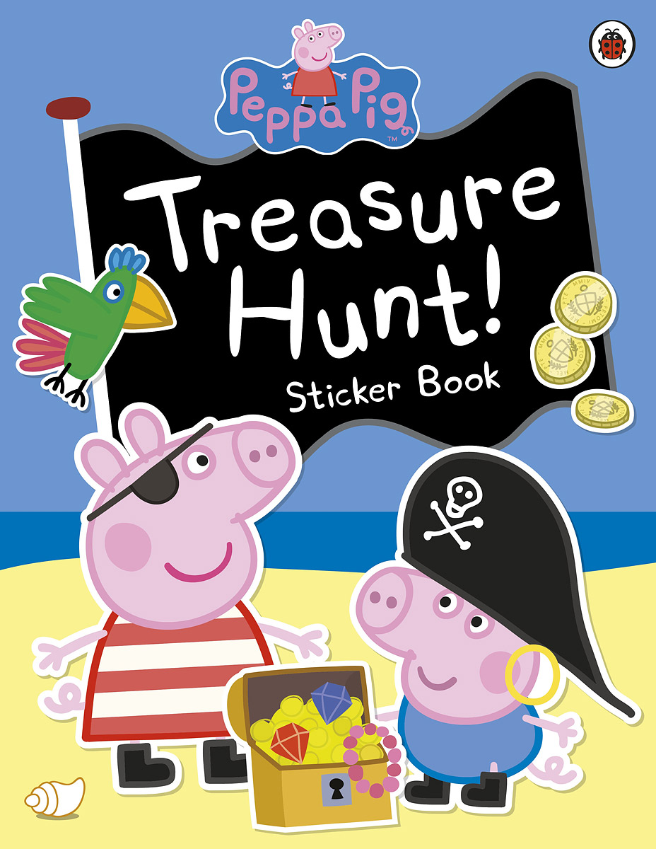 Treasure Hunt! Sticker Book george s first day at playgroup sticker story book