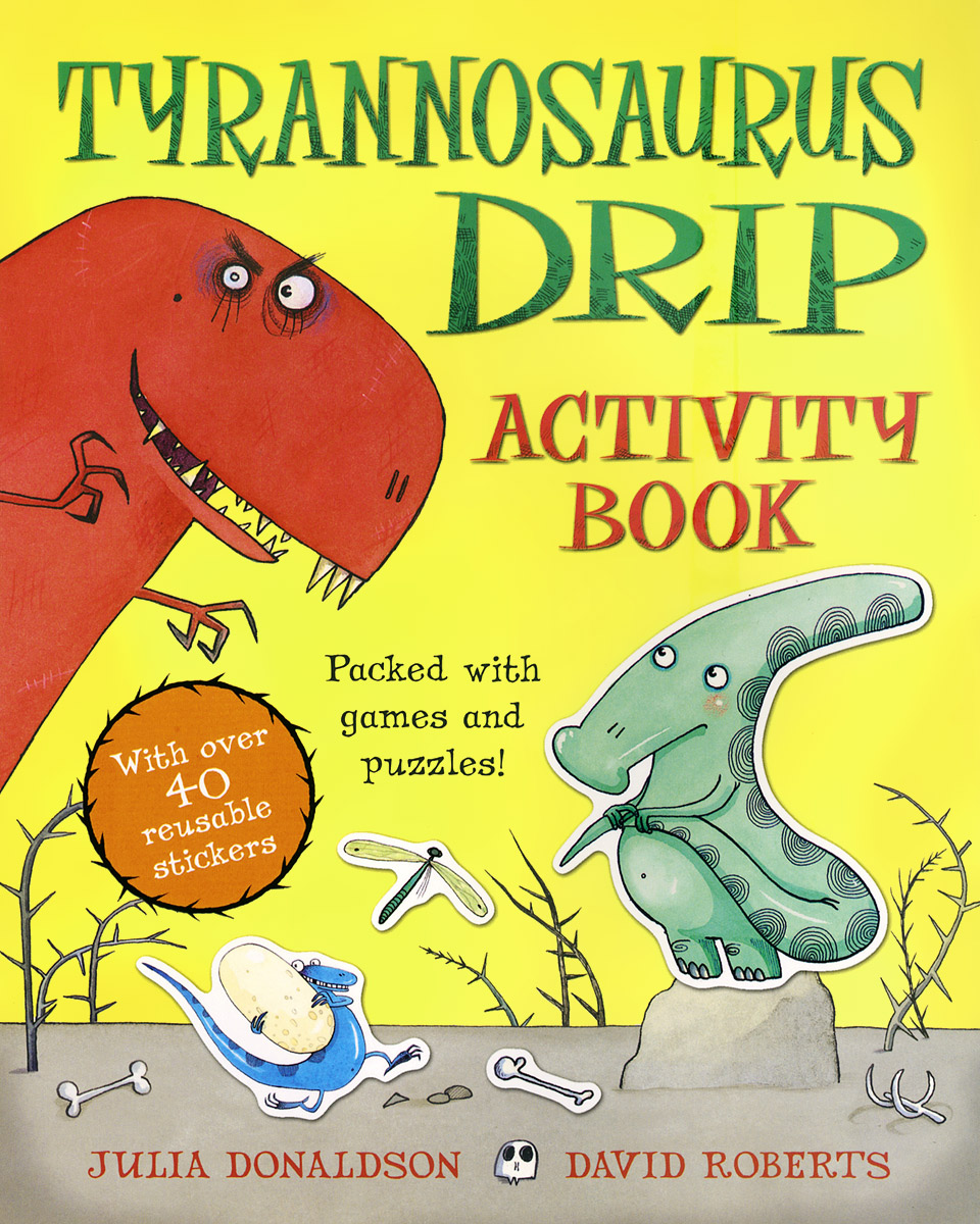 Tyrannosaurus Drip: Activity Book my counting sticker activity book