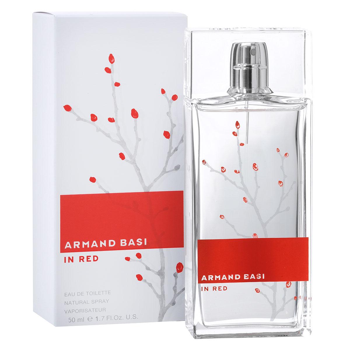 Armand Basi Туалетная вода In Red, женская, 50 мл17325До сих пор марка Armand Basi использовала только черный и белый цвет. Теперь используются и яркие оттенки. Средиземноморское солнце озаряет мир ярким светом - и в концепции Armand Basi In Red появляется красный цвет. Аромат Armand Basi In Red адресован женщине нашего времени: уверенной, подтверждающей свое право на индивидуальность, способной выразить свои чувства и эмоции - женщине нежной, но в то же время сильной и полной страсти.Открывают аромат ноты свежести цитрусовых, мандарина и бергамота в сочетании с пряными нотами имбиря и кардамона. Они являются прелюдией к цветочному сердцу аромата - комбинации оттенков розы, ландыша, жасмина и листьев фиалки. Благородный характер аромата гармонирует с чувственностью и богатством базовых древесных нот и белого мускуса.Классификация аромата: цветочный.Пирамида аромата:Верхние ноты: мандарин, имбирь, бергамот, кардамон.Ноты сердца: жасмин, листья фиалки, роза, ландыш.Ноты шлейфа: дубовый мох, древесные ноты, мускус.Ключевые словаСтрастный, чувственный, благородный!Туалетная вода - один из самых популярных видов парфюмерной продукции. Туалетная вода содержит 4-10%парфюмерного экстракта. Главные достоинства данного типа продукции заключаются в доступной цене, разнообразии форматов (как правило, 30, 50, 75, 100 мл), удобстве использования (чаще всего - спрей). Идеальна для дневного использования.Товар сертифицирован.