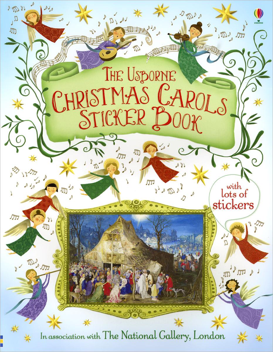 Christmas Carols Sticker Book christmas carols рождественские колядки