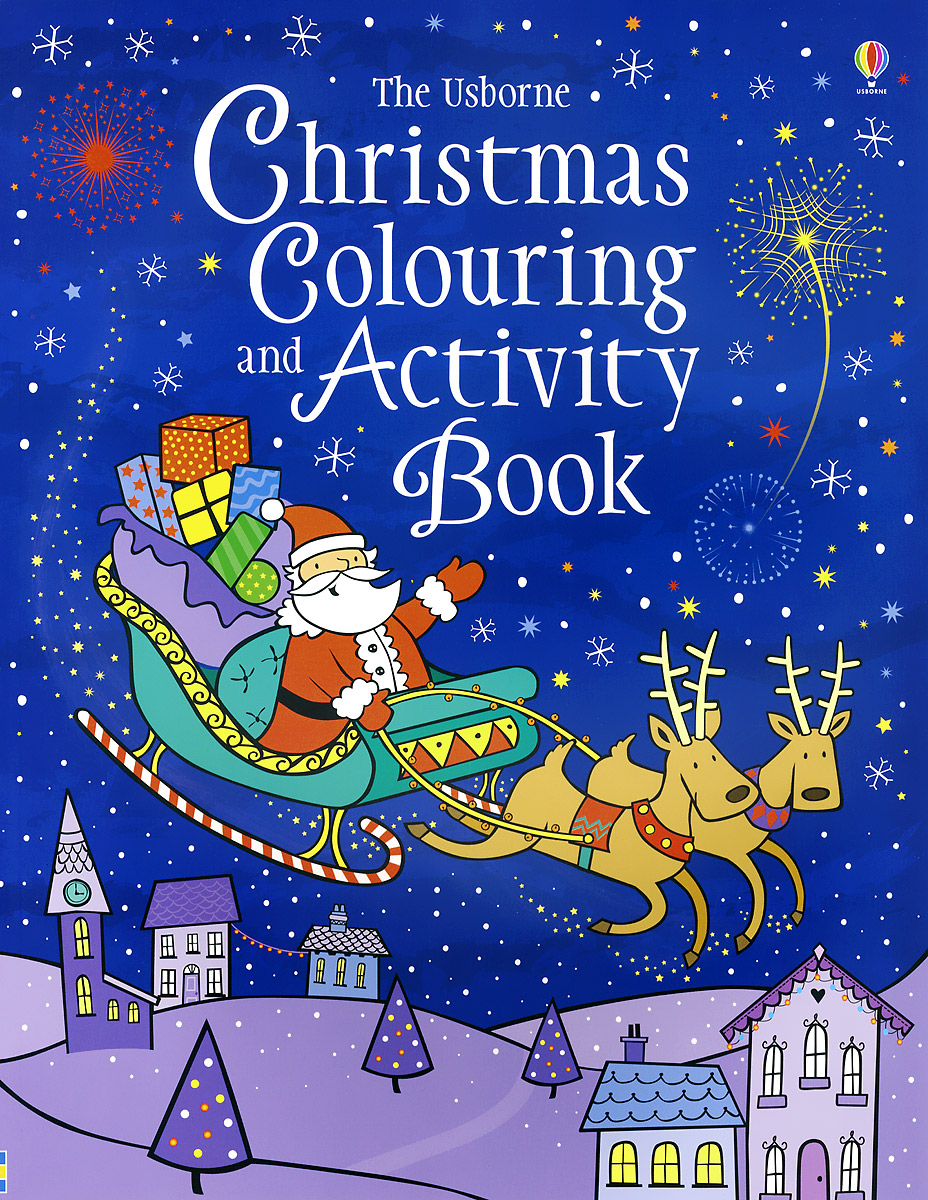 The Usborne Christmas Colouring and Activity Book