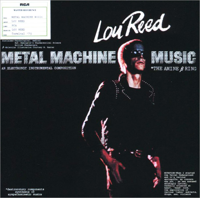 Лу Рид Lou Reed. Metal Machine Music lou reed lou reed berlin