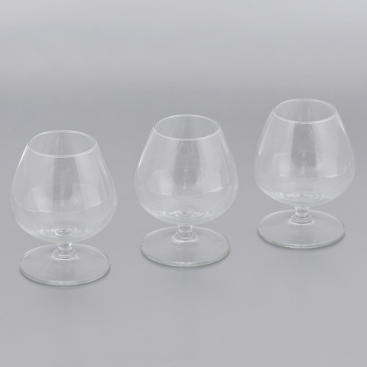 Набор бокалов для бренди Royal Leerdam Clarity, 250 мл, 3 шт322187Набор Royal Leerdam Clarity состоит из 3 бокалов, выполненных из высококачественного стекла. Бокалы предназначены для бренди. Набор бокалов прекрасно оформит сервировку стола и создаст в доме атмосферу праздника и уюта. Можно мыть в посудомоечной машине.