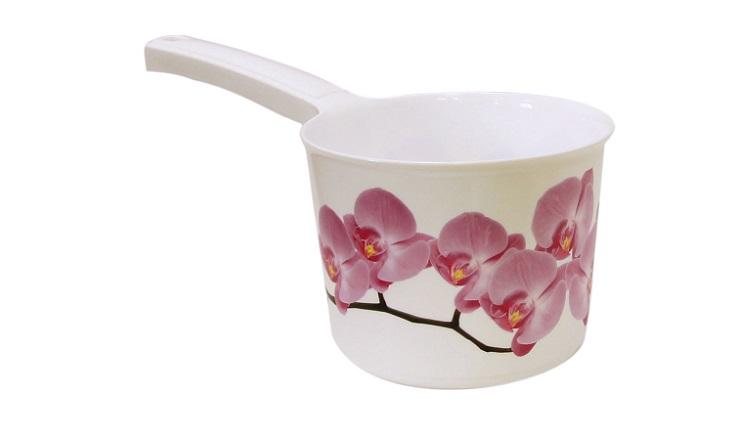 Ковш Idea Деко. Орхидея, 1,5 л ковш idea 1 л красный