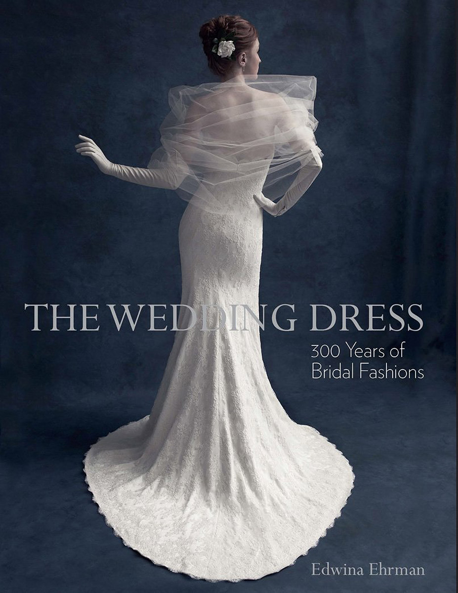 The Wedding Dress: 300 Years of Bridal Fashions off the shoulder flare midi vintage dress
