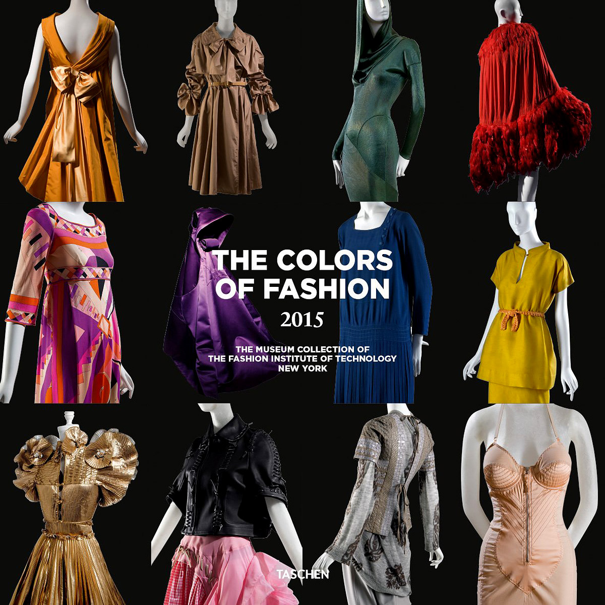 The Colors of Fashion 2015: The Museum Collection of the Fashion Institute of Technology New York in autumn the new style of the leather face of the thick bottom of the shoe fashion of many colors