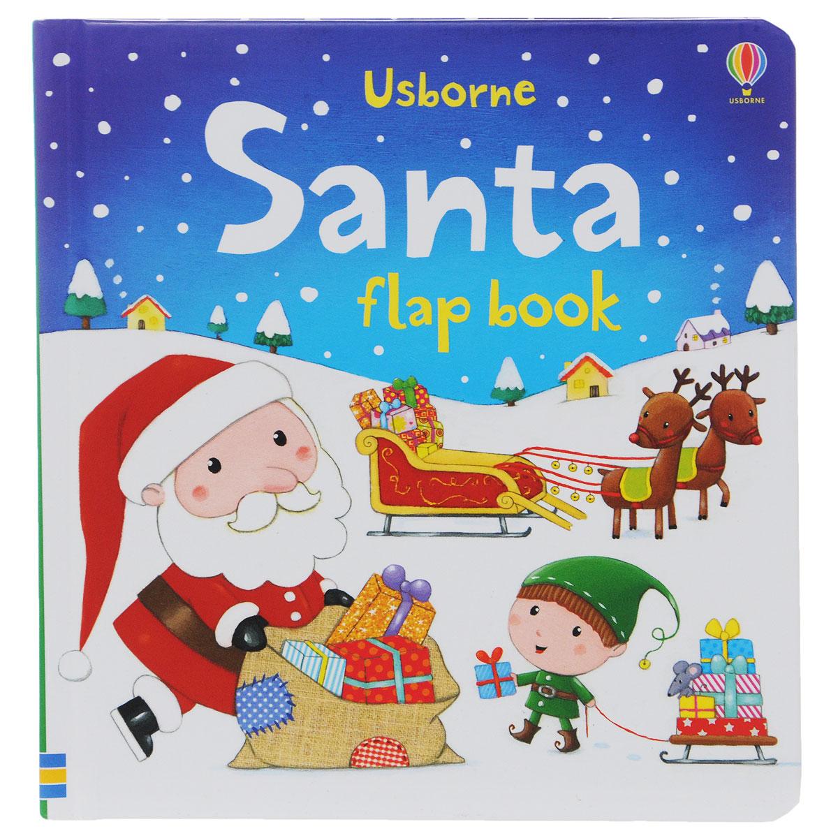 Santa Flap Book supermarket gremlins lift the flaps book
