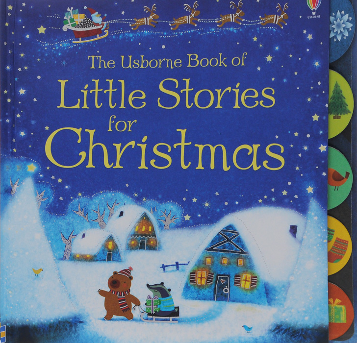 The Usborn Book of Little Stories for Christmas the crazy christmas joke book