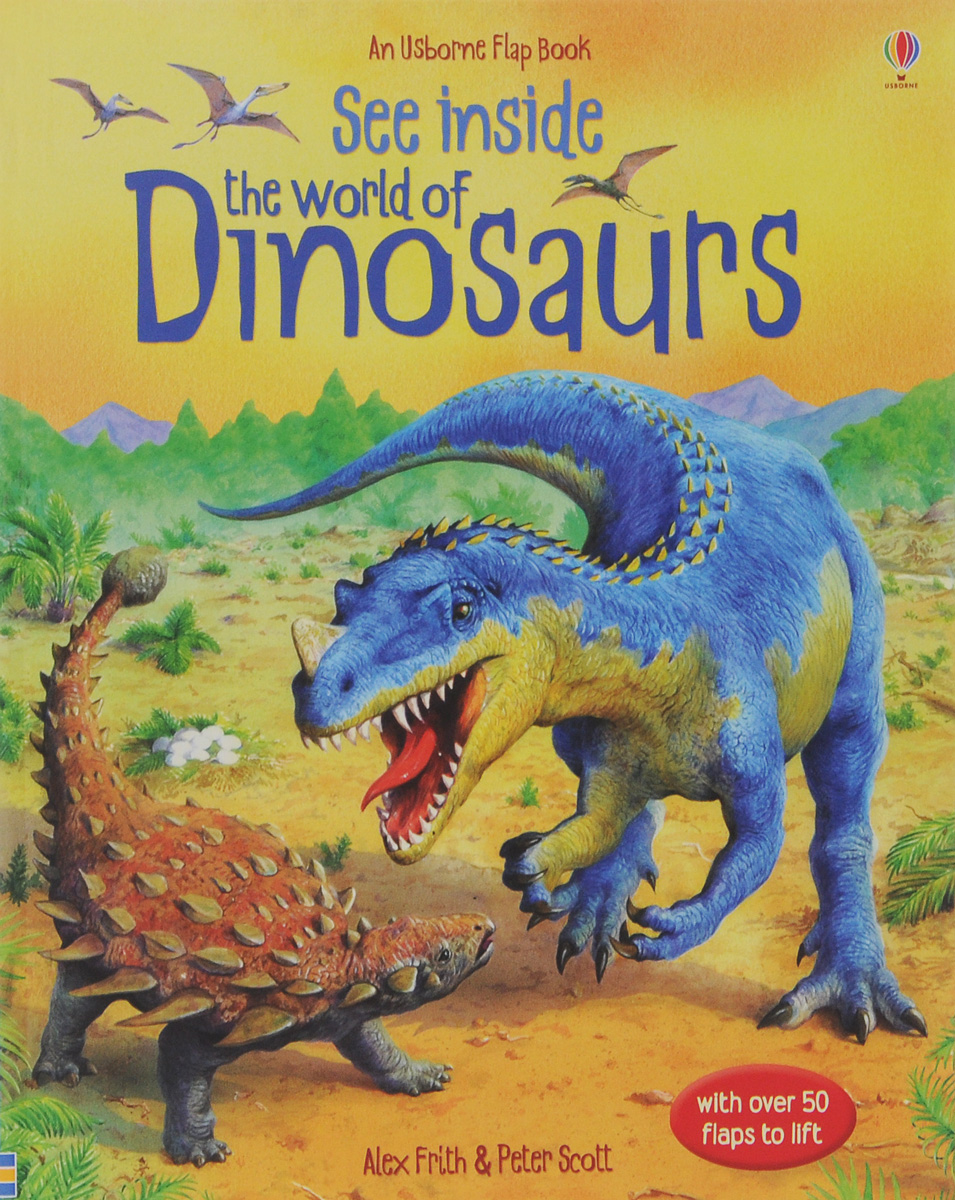 See Inside the World of Dinosaurs supermarket gremlins lift the flaps book