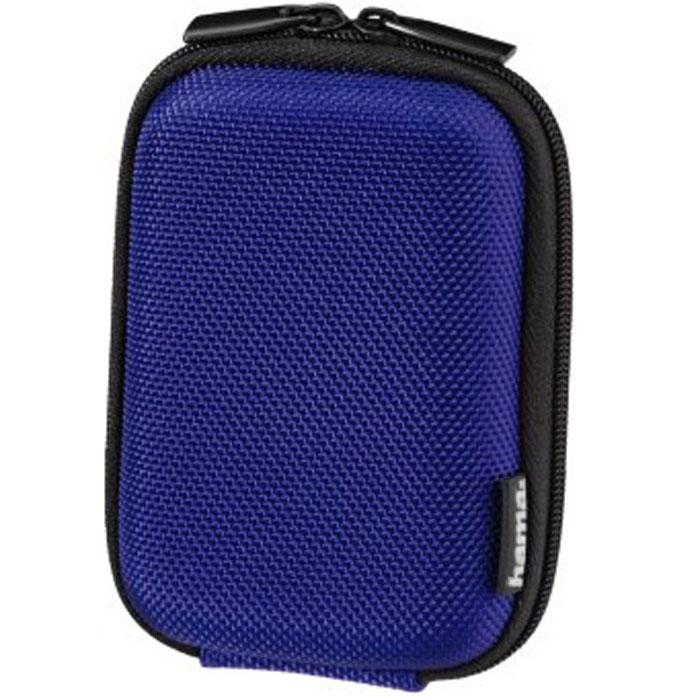 Hama Hardcase Colour Style 40G, Blue чехол для фотокамеры023145Чехол Hama Hardcase Colour Style 40G для цифровой фотокамеры. Имеет отделение для карт памяти и аксессуаров, ремешок для переноски. Также оснащен петлей для ношения на поясе.