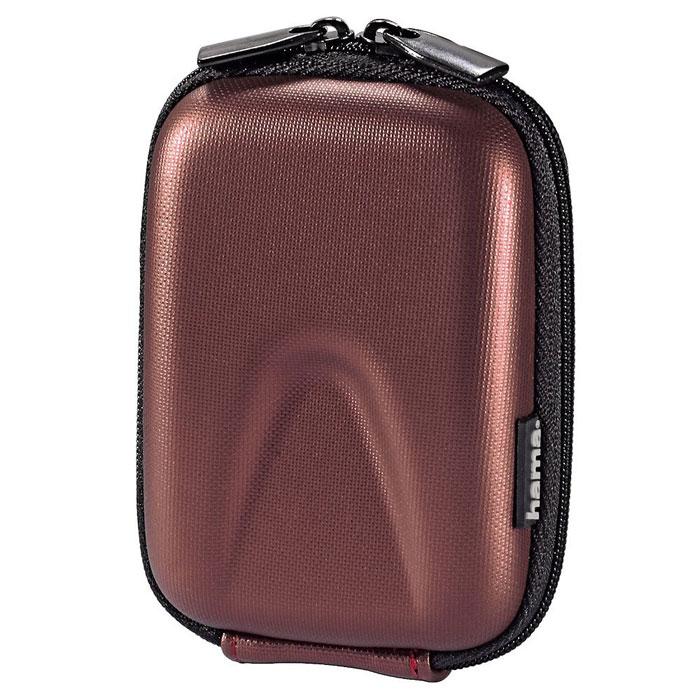 Hama Hardcase Thumb 40G, Red чехол для фотокамеры103762Сумка Hama Hardcase Thumb 40G для цифровой фотокамеры. Имеет отделение для карт памяти и аксессуаров, ремешок для переноски. Так же оснащена петлей для ношения на поясе. Прочный материал.