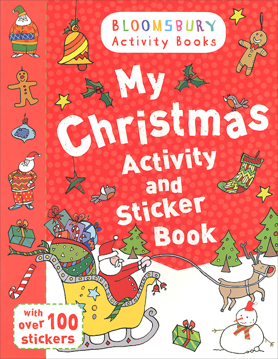 My Christmas Activity and Sticker Book happy holiday sticker activity book