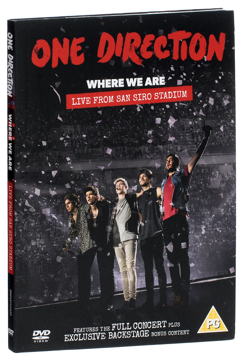 One Direction: Where We Are, Live From San Siro Stadium кондиционер roda rs a18f ru a18f