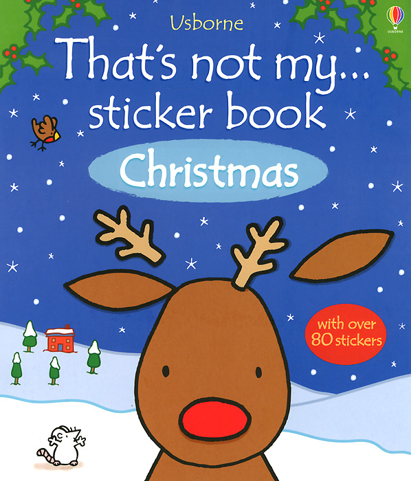 That's Not My... Christmas: Sticker Book