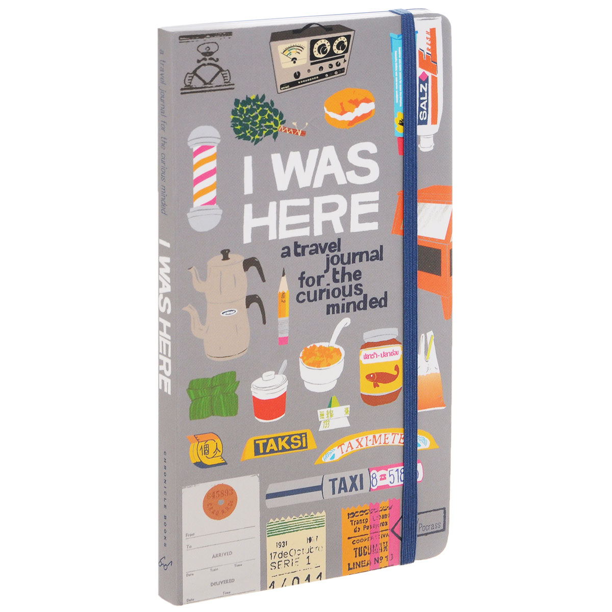 I Was Here: A Travel Journal for the Curious Minded jackie kay wish i was here