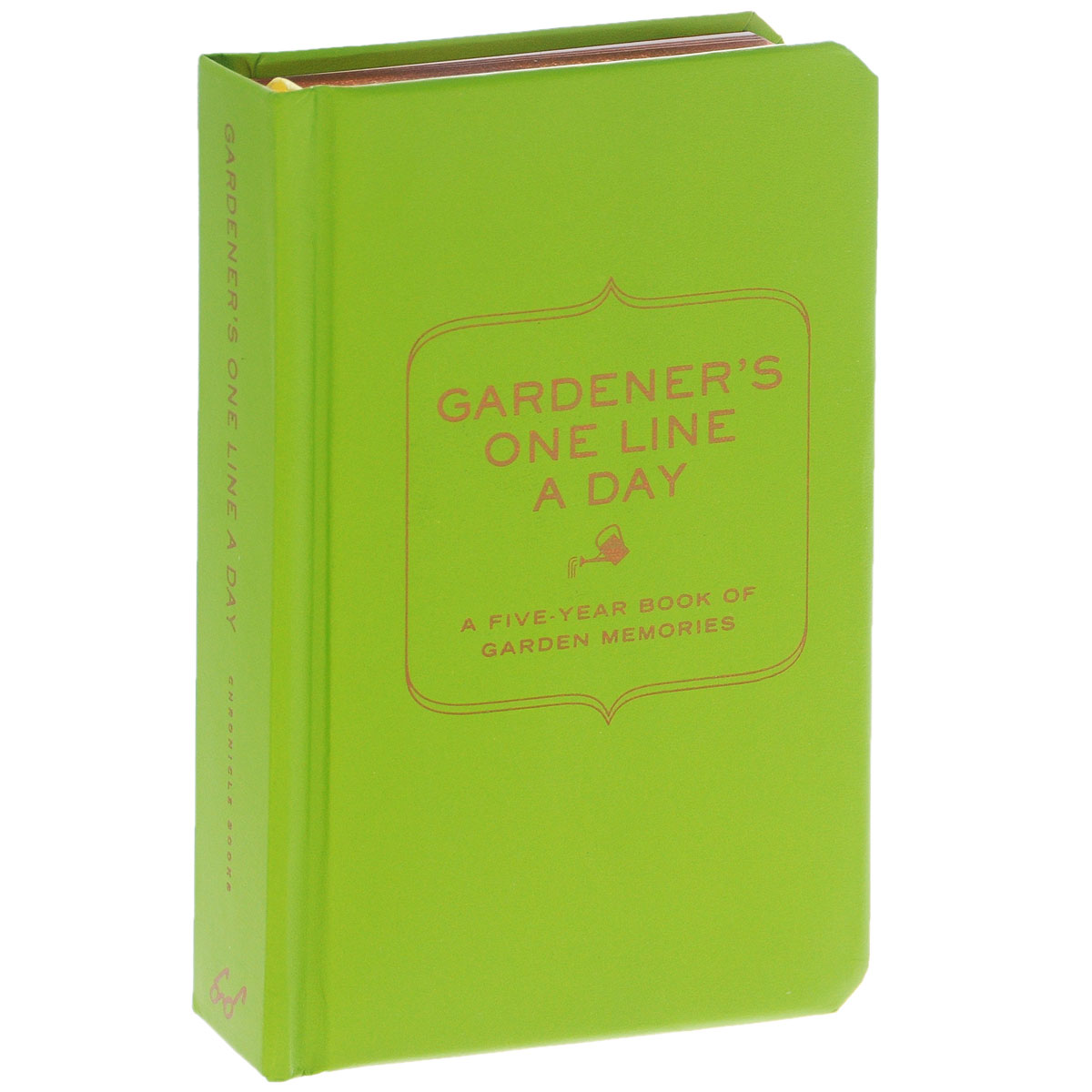 Gardener's One Line a Day: A Five-Year Book of Garden Memories history year by year