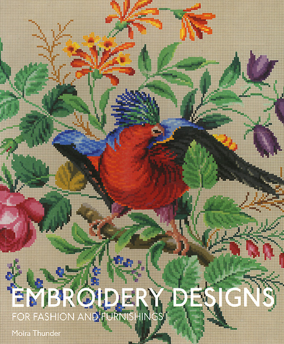 Embroidery Designs for Fashion and Furnishings triad designs and related factorizations