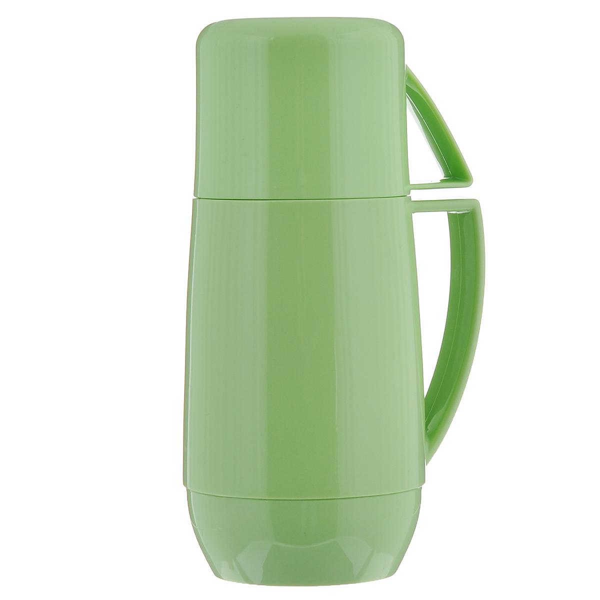 """Термос Tescoma """"Family"""", с кружкой, цвет: зеленый, 0,3 л"""
