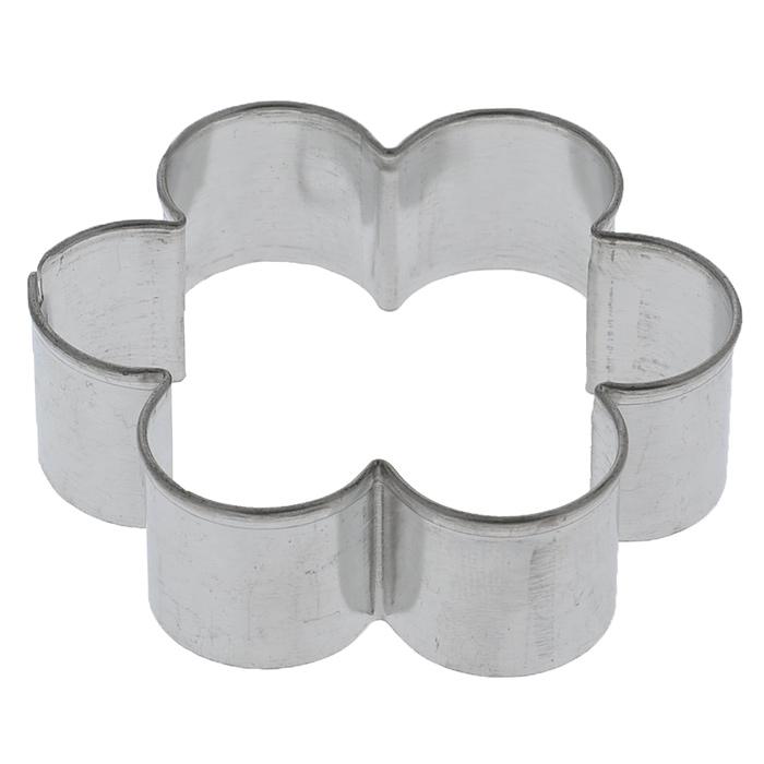 """Формочка для выпечки Tescoma """"Цветок"""", изготовленная из нержавеющей стали, идеально подойдет для вырезания теста при выпечке печенья."""