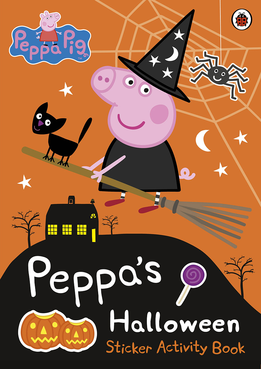 Peppa Pig: Peppa's Halloween: Sticker Activity Book stories for halloween