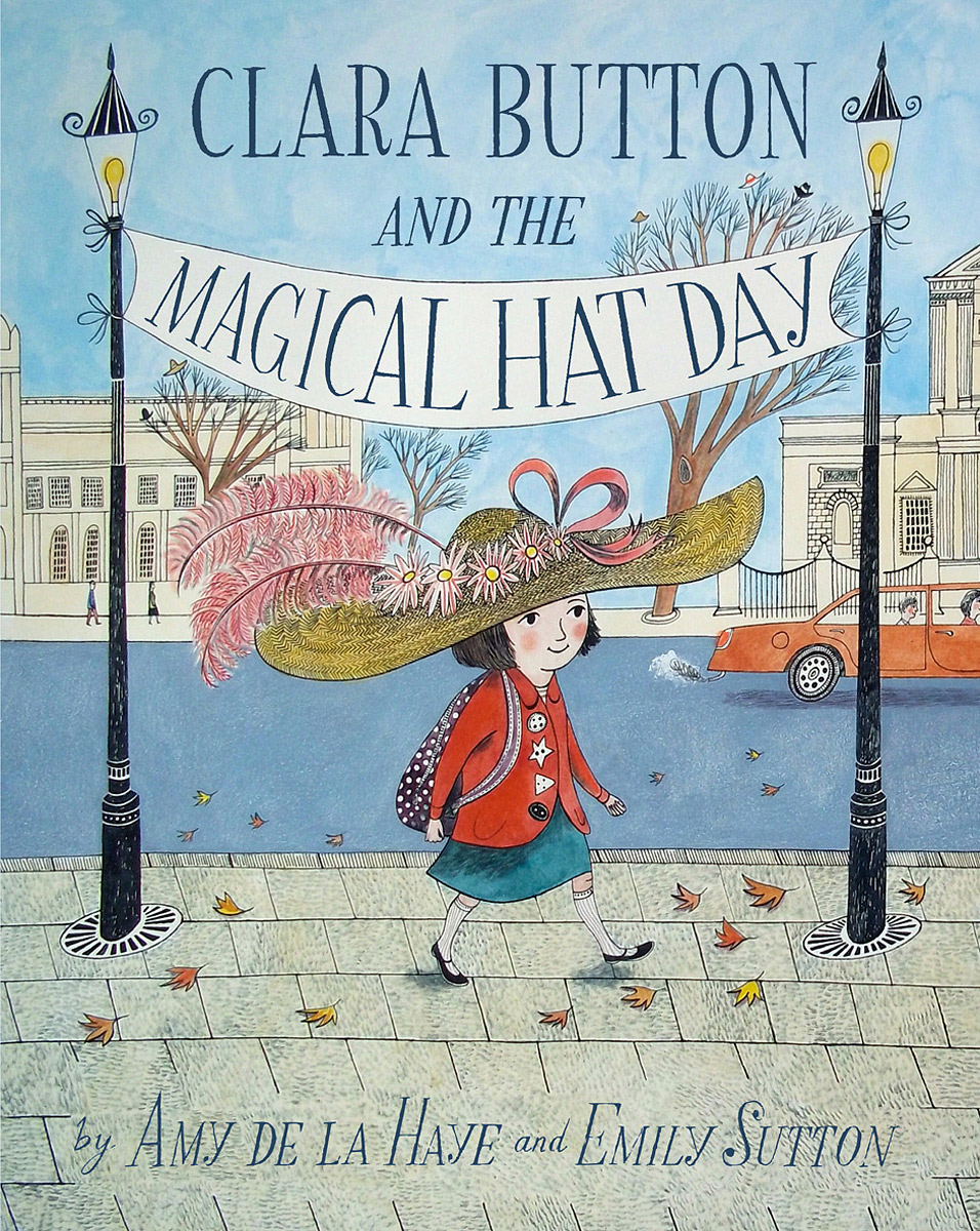 Clara Button and the Magical Hat Day a cat a hat and a piece of string