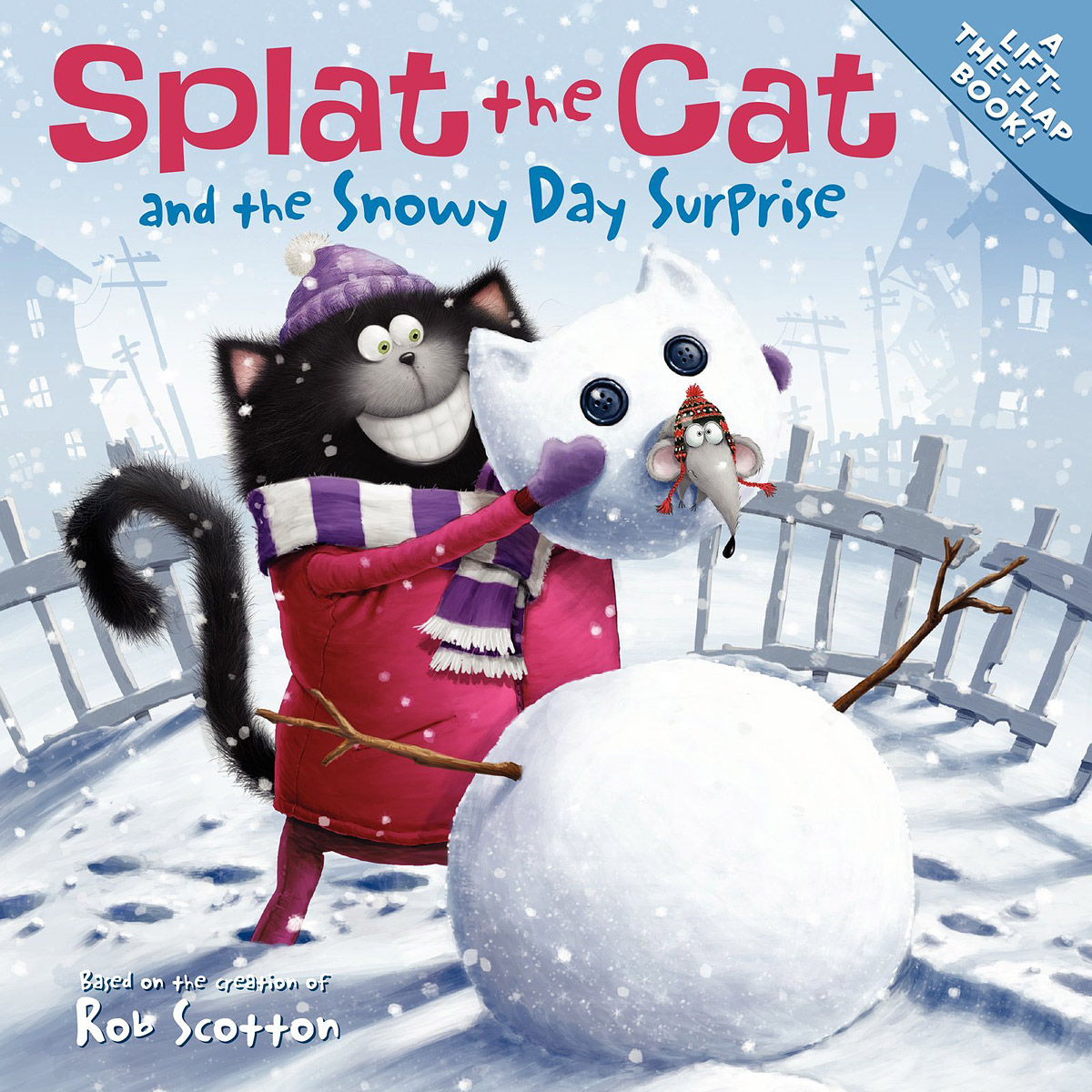 Splat the Cat and the Snowy Day Surprise seeing things as they are