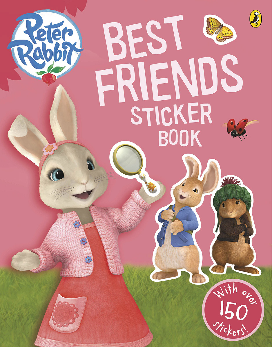 Купить Peter Rabbit Animation: Best Friends: Sticker Book