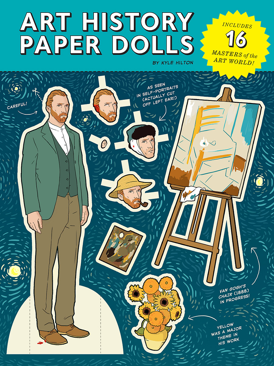 Art History Paper Dolls a natural history of vision paper