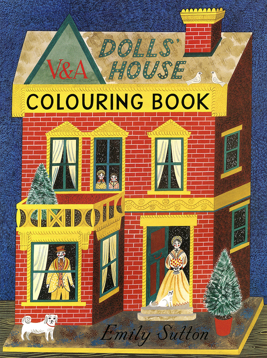 The Dolls' House Colouring Book the colouring book of cards and envelopes – unicorns and rainbows