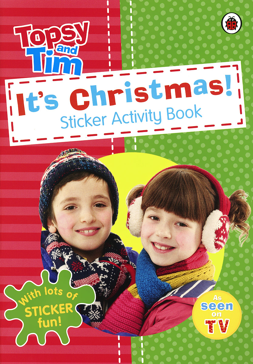 It's Christmas! Sticker Activity Book