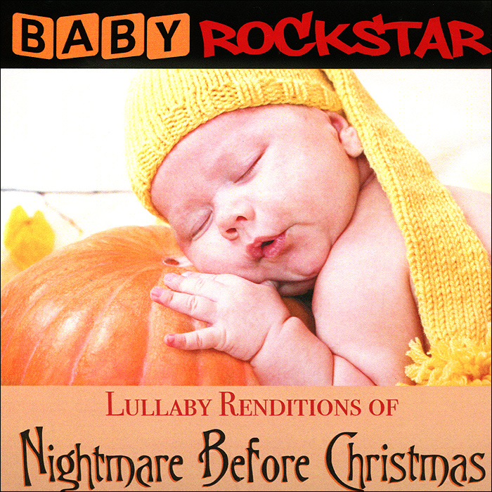 Baby Rockstar Baby RockStar. Lullaby Renditions Of The Nightmare Before Christmas long style pu wallet of the nightmare before christmas skull jack with button and multi layer
