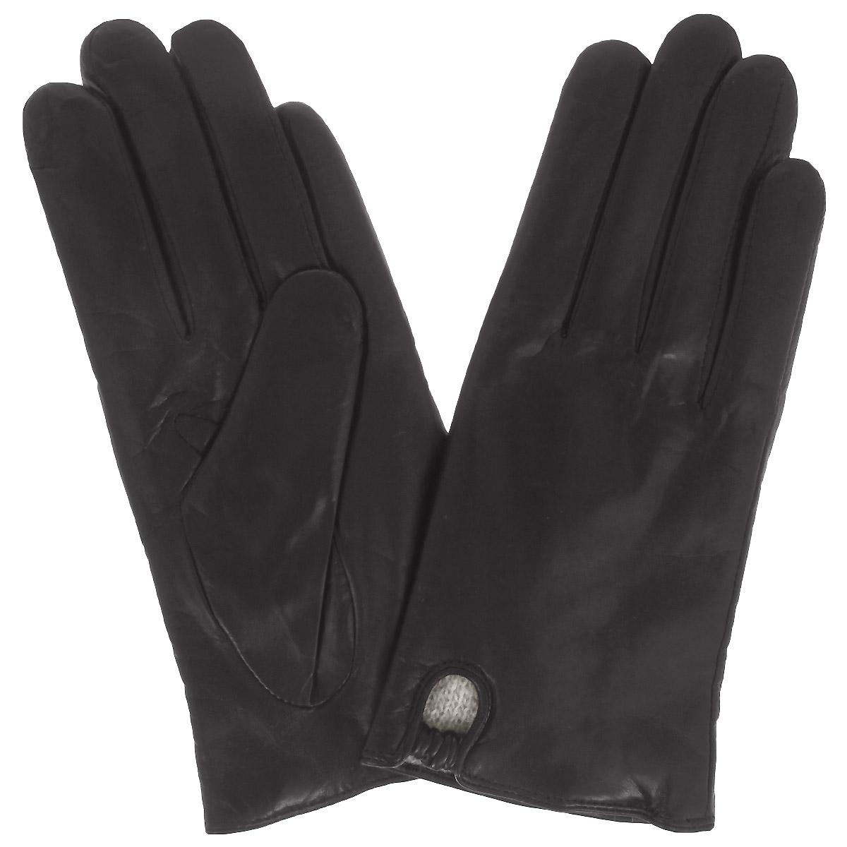 Перчатки женские Dali Exclusive, цвет: черный. 11_NELLA/BL. Размер 6,5 перчатки женские eleganzza цвет черный is0424 размер 8