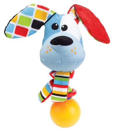 Yookidoo Погремушка музыкальная Щенок yookidoo музыкальная уточка yookidoo