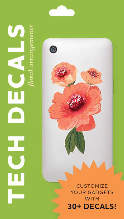 Floral Arrangements: Tech Decals vintage floral fit and flare dress