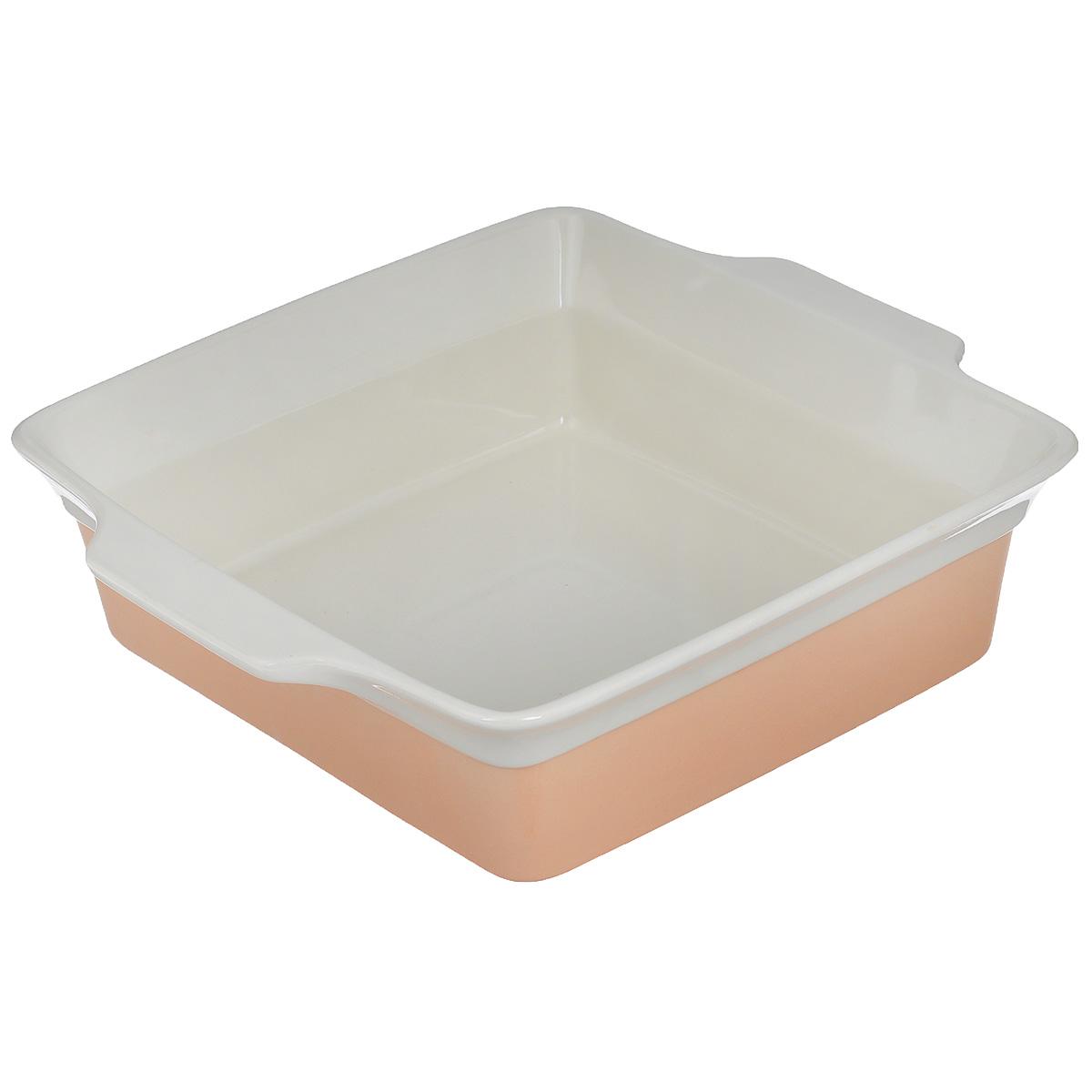 Форма для выпечки Mayer & Boch, прямоугольная, цвет: персиковый, бежевый, 3,4 л21817Прямоугольная форма для выпечки Mayer & Boch изготовленная из жаропрочнойкерамики, подходит для любого вида пищи. Элегантный дизайн идеально подходит длясовременного дома.Изделия из керамики идеально подходят как для приготовления пищи, так и для подачи настол. Материал не содержит свинца и кадмия.С такой формой вы всегда сможете порадовать своих близких оригинальным блюдом. Форму можно использовать на газовой, электрической плите и в микроволновой печи.Можно мыть в посудомоечной машине.