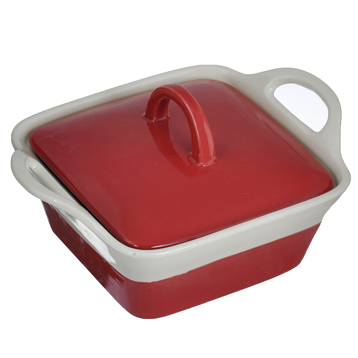 Кастрюля Mayer & Boch с крышкой, цвет: красный, бежевый, 680 мл21807Кастрюля Mayer & Boch изготовленная из жаропрочной керамики, подходит для любого вида пищи. Элегантный дизайн идеально подходит для современного дома. В комплект входит крышка из керамики.Изделия из керамики идеально подходят как для приготовления пищи, так и для подачи на стол. Материал не содержит свинца и кадмия. С такой кастрюлей вы всегда сможете порадовать своих близких оригинальным блюдом.Кастрюлю можно использовать на газовой, электрической плите и в микроволновой печи. Можно мыть в посудомоечной машине. Размер кастрюли: 15,5 см х 15,5 см.Ширина кастрюли (с учетом ручек): 22 см.Высота стенок: 7 см.