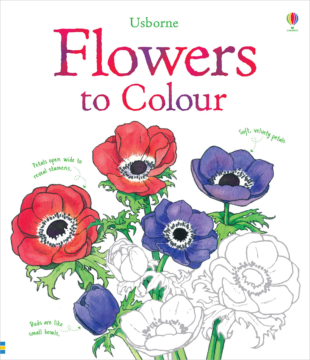 Flowers to Colour 128 page chinese color pen flower entry paintings drawing book color pencil drawing basic introduction to hand painted books