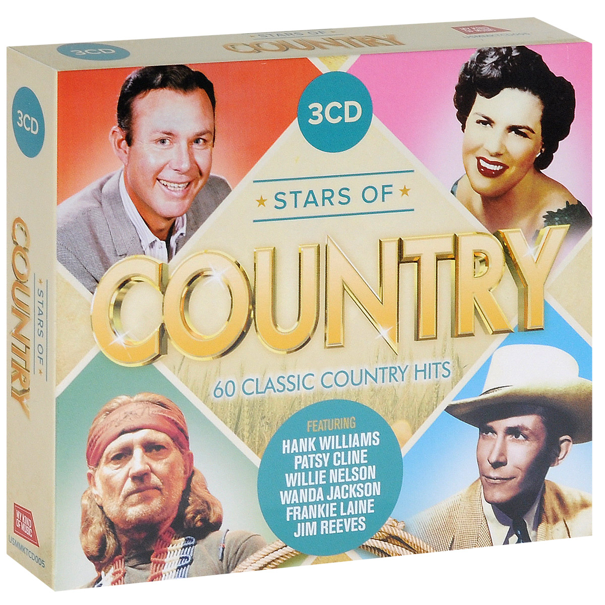 Stars Of Country (3 CD)