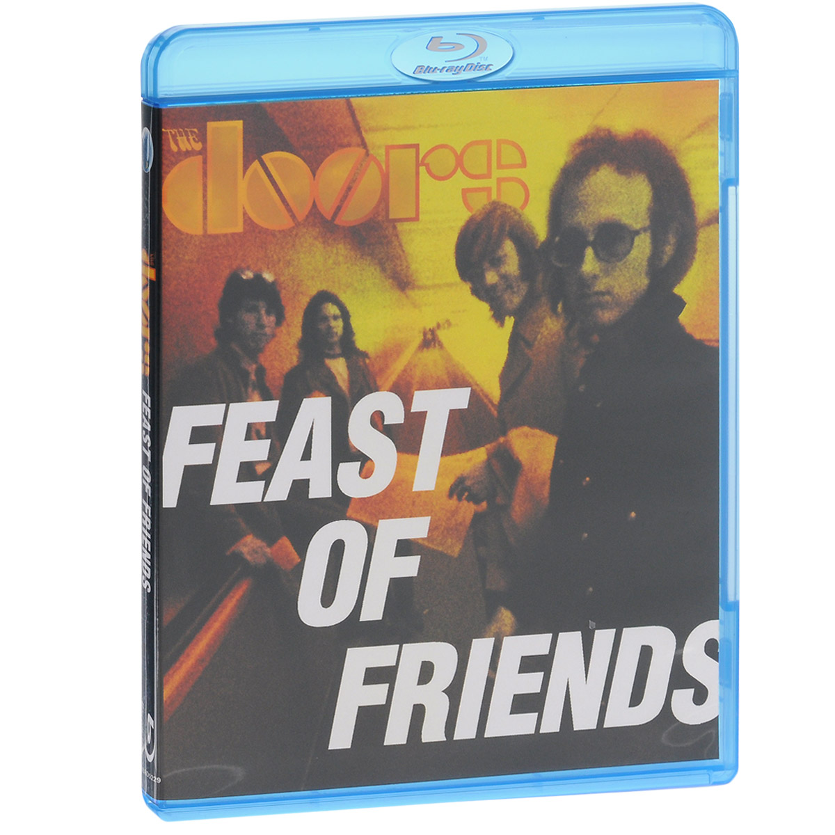 FEAST OF FRIENDS, filmed in 1968, was the first and only film produced about The Doors by The Doors. It offers a cinematic look at The Doors on the road during their summer '68 tour. Whilst never truly completed, the film provides a stylistic approach in true sixties cinema verite style. Concert performances are intercut with fly-on-the-wall footage of the group in their natural habitat, sometimes playful, sensitive, chaotic and touching. Other than a few appearances in film festivals in 1968, an official release would never be seen until now. Completely restored from the original negative, as supervised by Jim Morrison, the film has been colour-corrected and cleaned in high definition with the soundtrack totally remixed and remastered by long-time Doors' collaborator Bruce Botnick.BONUS FEATURES- A newly produced feature using footage shot for feast of Friends, Encore is a complimentary piece which provides a deeper look into the life of the band at this period as they tour, record, travel and even vacation together. The program avoids the typical selection of hits and makes use of The Doors rare recordings to accompany this unreleased footage.- A British TV documentary originally aired on December 17th, 1968, The Doors Are Open is focused around the band's performance at London's Roundhouse, which took place just days after the completion of filming for Feast of Friends. Although previously released, the film has suffered from numerous sound and picture quality issues. Now the image quality has been dramatically improved and the sound has been transformed by Bruce Botnick to be as true to the original live sound as possible.- Filmed in Toronto, Canada in August 1967 and first broadcast in October that year, this performance of
