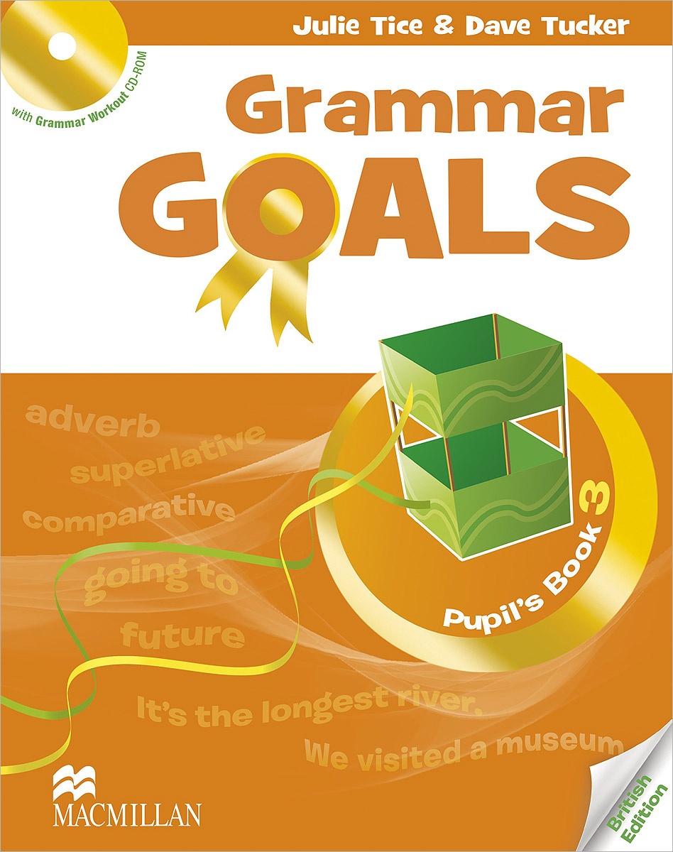 Grammar Goals: Pupil's Book Level 3 (+ CD-ROM) цветочная ваза title page
