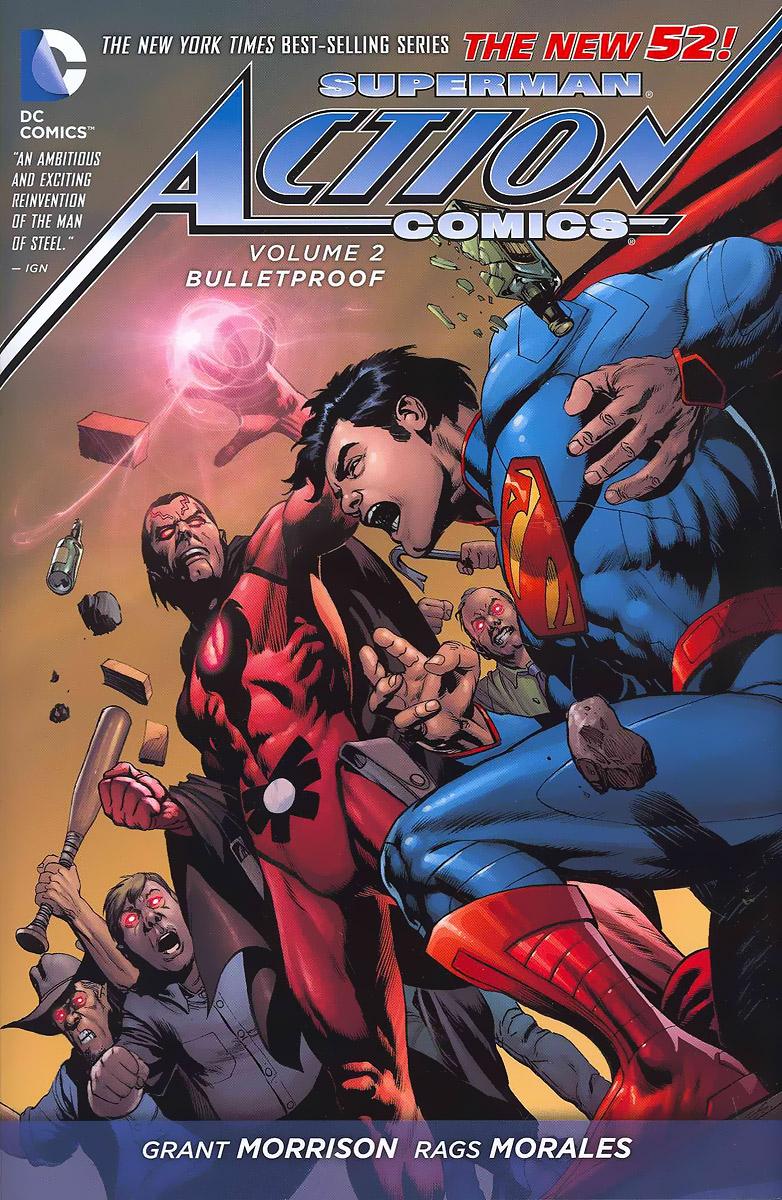 Superman Action Comics: Volume 2: Bulletproof batman detective comics volume 9 gordon at war