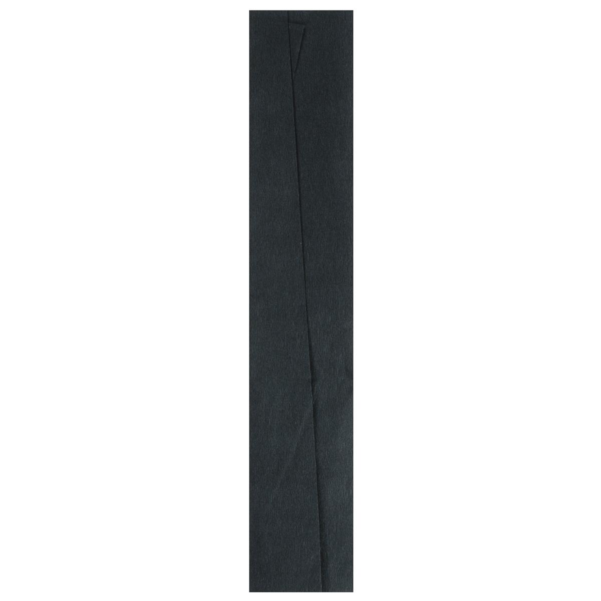 Бумага креповая Folia, цвет: черный (99), 50 см x 2,5 м7704392_99Бумага креповая Folia - прекрасный материал для декорирования, украшения интерьера, изготовления искусственных цветов, эффектной упаковки и различных поделок. Бумага прекрасно держит форму, отлично крепится и замечательно подходит для изготовления праздничной упаковки для цветов.