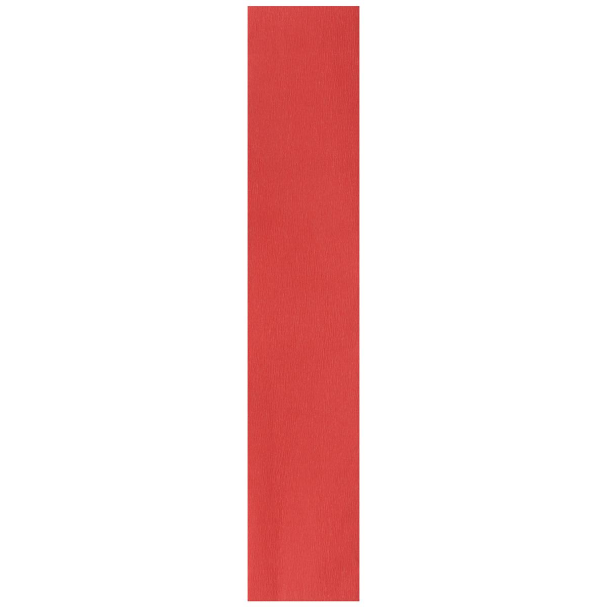 Бумага креповая Folia, цвет: красный (34), 50 см x 2,5 м7704392_34Бумага креповая Folia - прекрасный материал для декорирования, украшения интерьера, изготовления искусственных цветов, эффектной упаковки и различных поделок. Бумага прекрасно держит форму, отлично крепится и замечательно подходит для изготовления праздничной упаковки для цветов.
