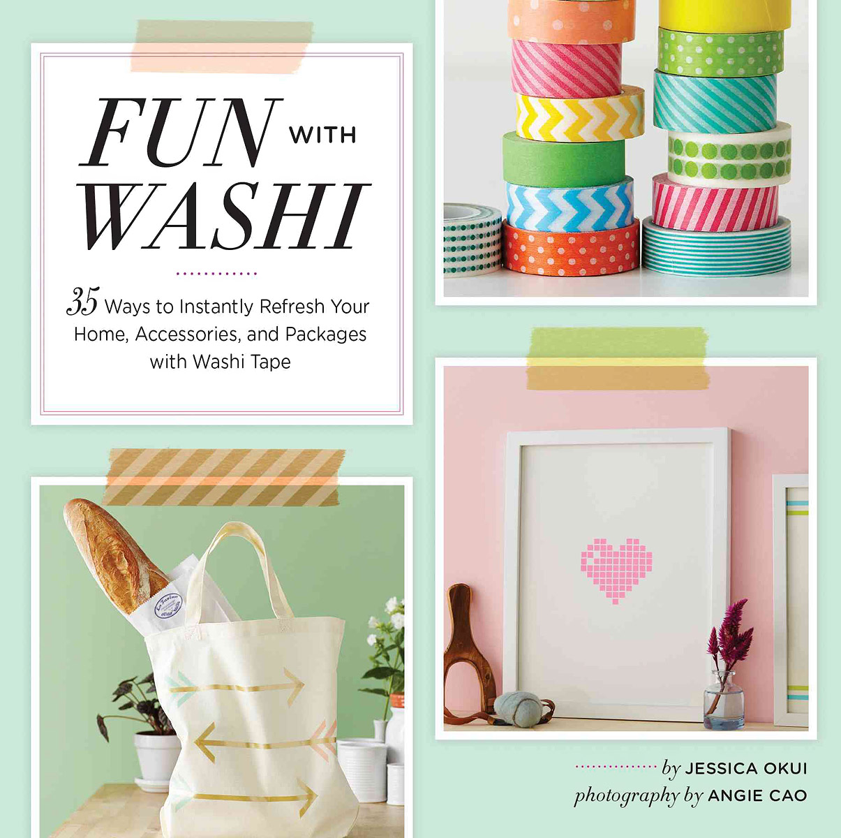 Fun With Washi: 35 Ways to Instantly Refresh Your Home, Accessories, and Packages with Washi Tape glade саше ароматическое hang it and refresh океанский оазис 8гр