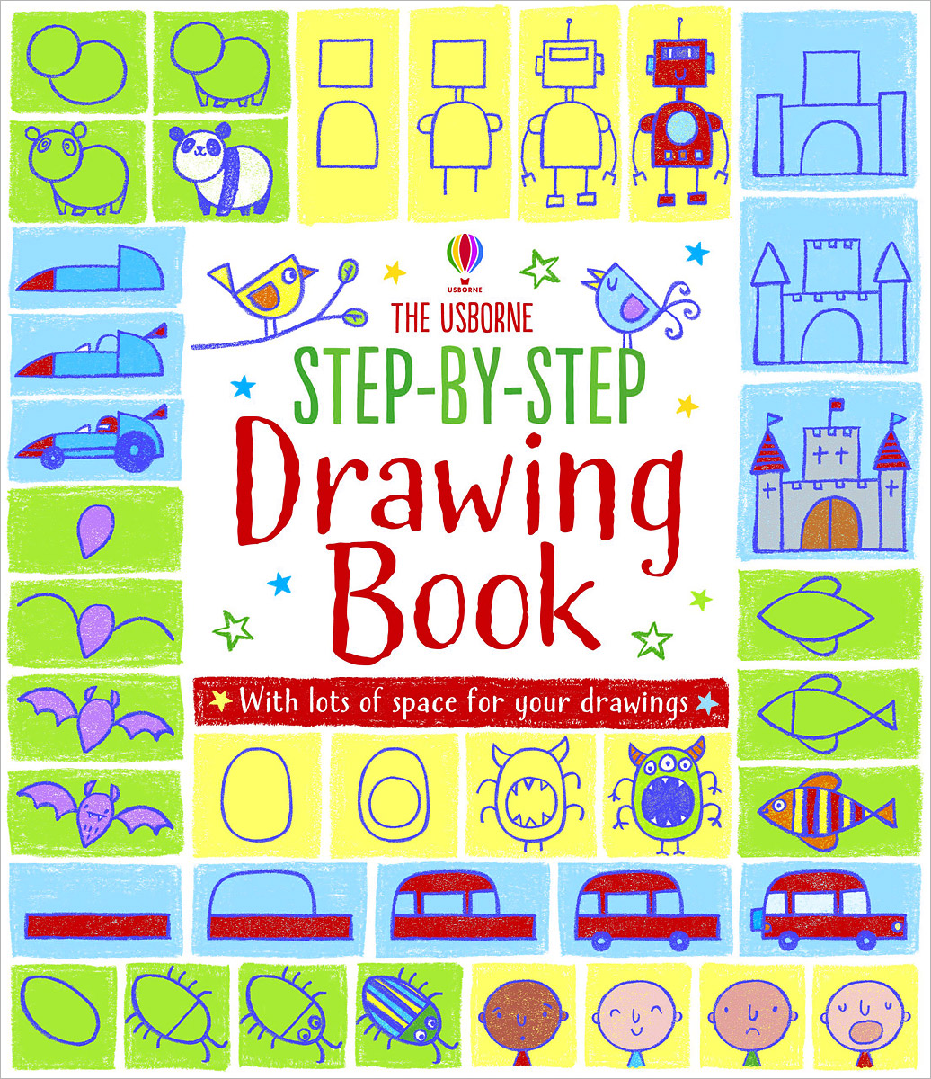 Купить The Usborne Step-by-Step Drawing Book