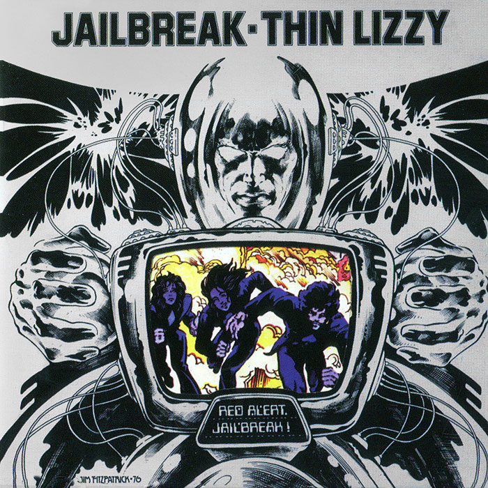 Thin Lizzy Thin Lizzy. Jailbreak thin lizzy thin lizzy jailbreak deluxe expanded edition 2 cd